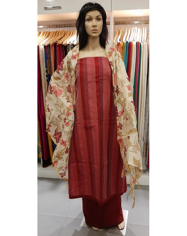 Semi silk salwar set