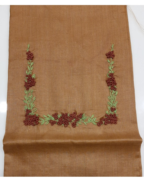 Handworked tussar silk salwar top