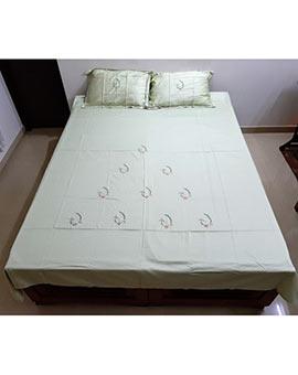 Handworked queen size bed spreads.