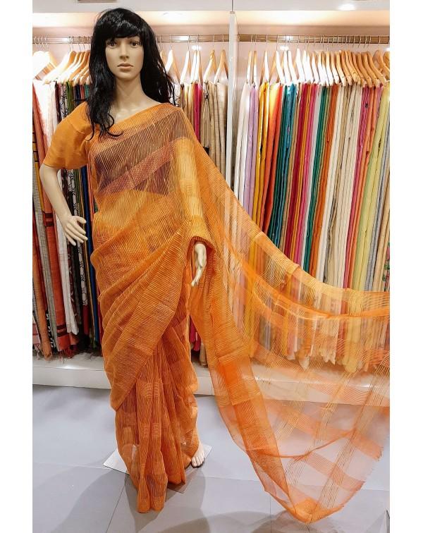 Kota saree with thread weaving