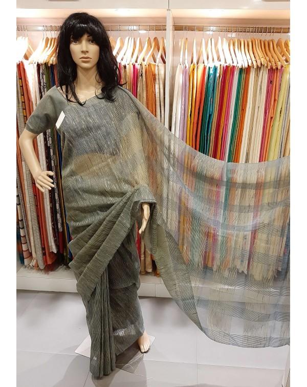 Kota saree with thread work.