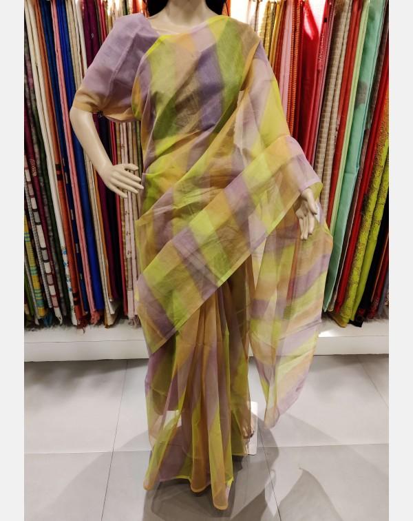 Multi coloured kota saree